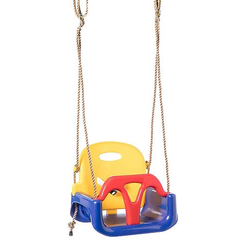 3 in 1 Baby Toddler and Teens Playground Hanging Swing Seat