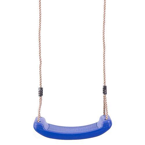 PLAYBERG Plastic Playground Board Swing, Blue