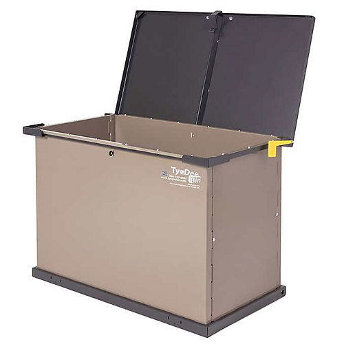 TyeDee Bin Original Animal Resistant Storage Bin  - Taupe