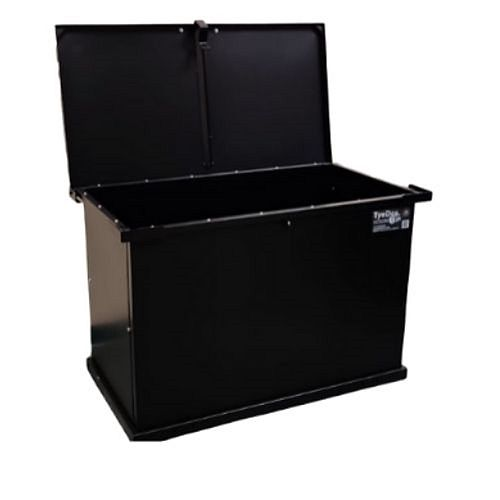 TyeDee Bin Original Animal Resistant Storage Bin - Black