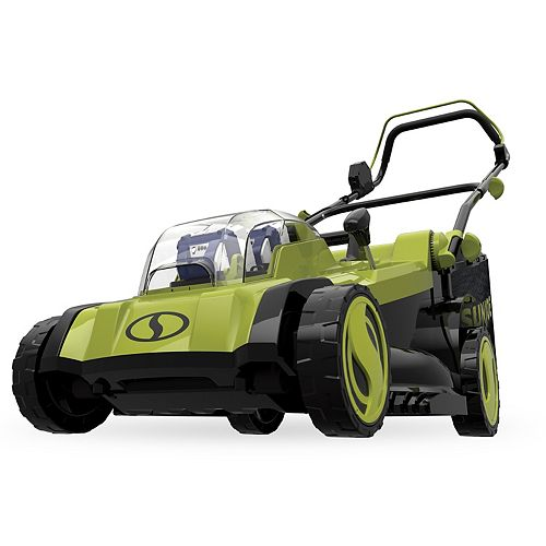 17-inch 48V Cordless Electric Walk Behind Push Lawn Mower Kit with 4.0x2 Ah Batteries + Charger