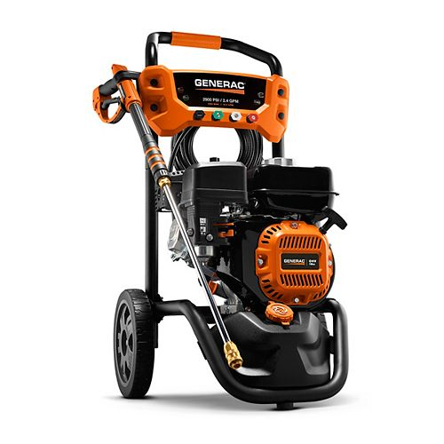 Generac 2900 PSI 2.4 GPM Residential Pressure Washer With Soap Tank