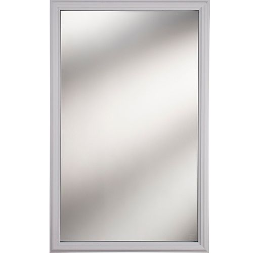 1 Lite Clear Low-E Glass 22 in. x 36 in. x 1 in. with White Frame