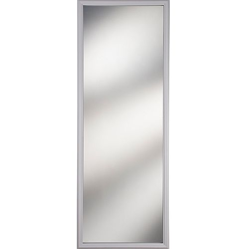 1 Lite Clear Low-E Glass 22 in. x 64 in. x 1 in. with White Frame