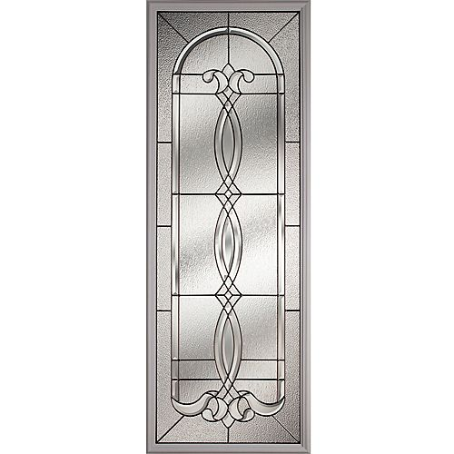 ODL Avant with Black Chrome Caming 22 in. x 64 in. x 1 in. with White Frame