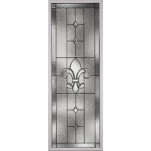 ODL Carrollton with Patina Caming 22 in. x 64 in. x 1 in. with White Frame