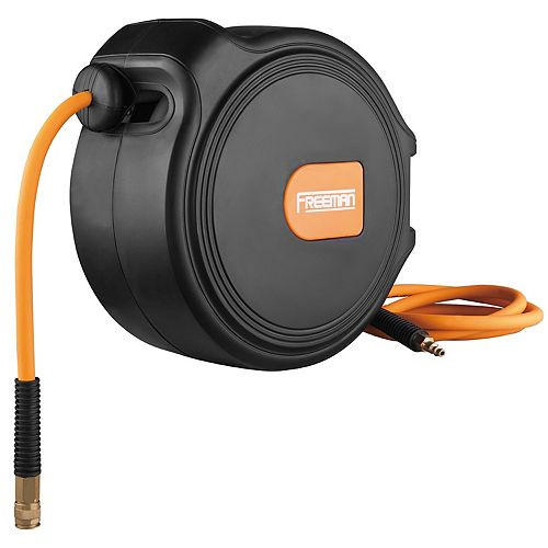1/4-inch x 65 ft. Compact Retractable Air Hose Reel