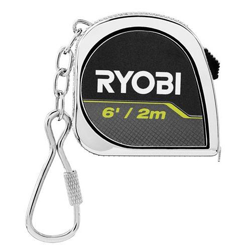 6ft Keychain Tape Measure