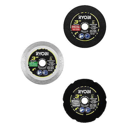 Cut-Off Saw Blades (3-Pack)