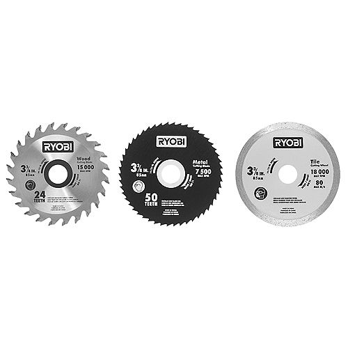 Multi-Material Saw Blades (3-pack)