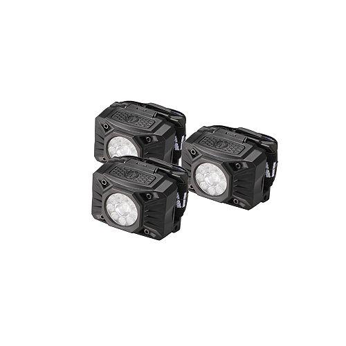 3-Pack LED Headlights