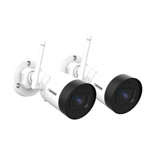 Guard 4MP (2K) Resolution Indoor/Outdoor Security Surveillance Wi-Fi Camera 2-Pack