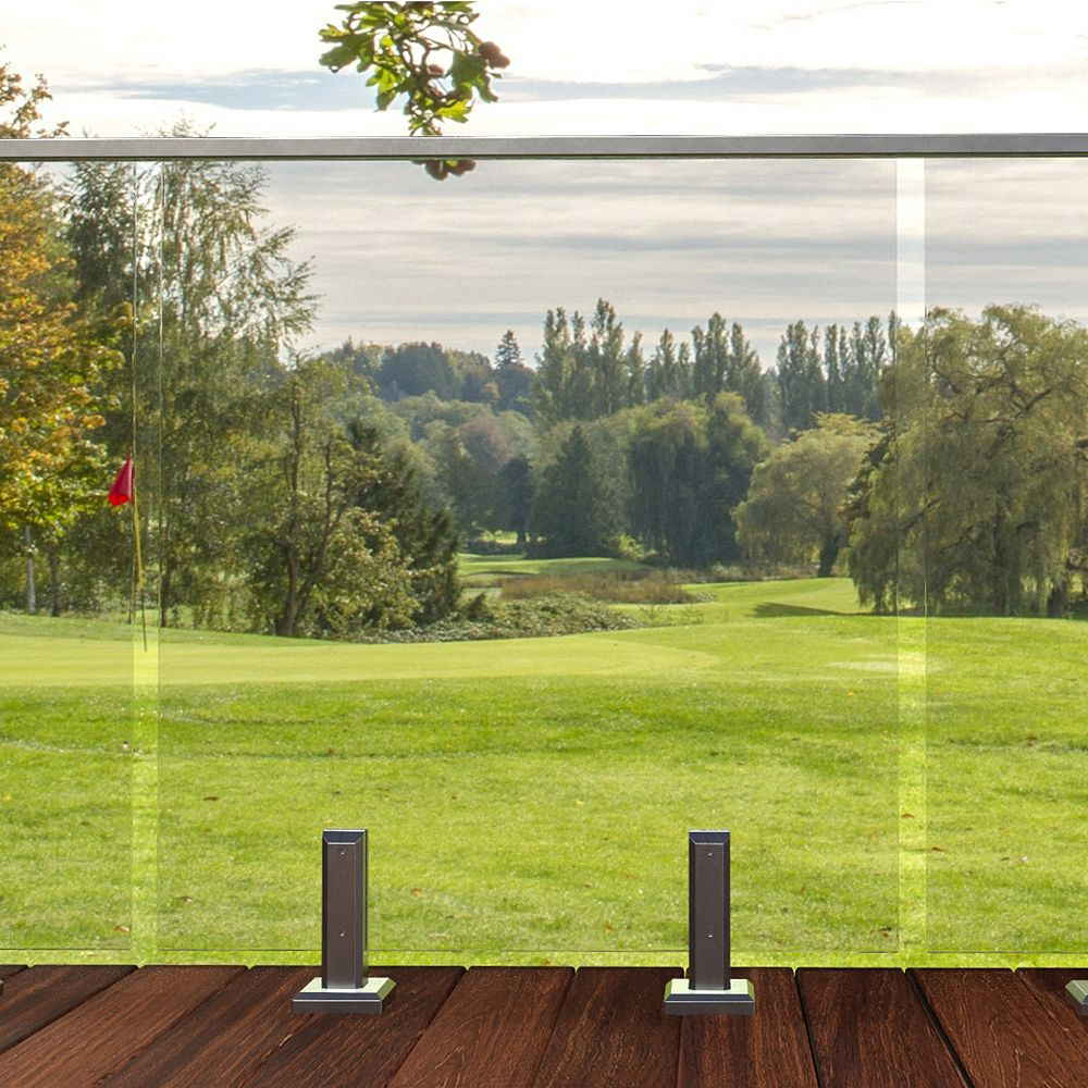 Peak Products MountainView 36-inch W Tempered Railing Glass Panel