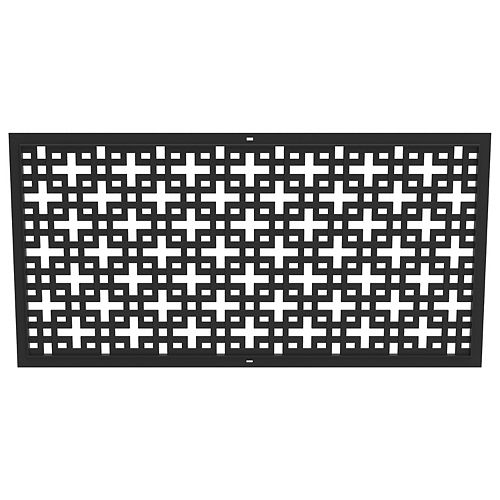 Multy Home 24-inch x 48-inch Erindale Black Wall Decor Panel