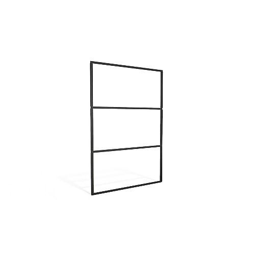 Screen Frame in Black for 4 ft. W x 2 ft. Decorative Resin Screens in Black