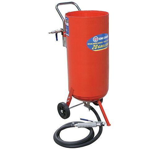 Machine de sablage à Jet 20 Gallons