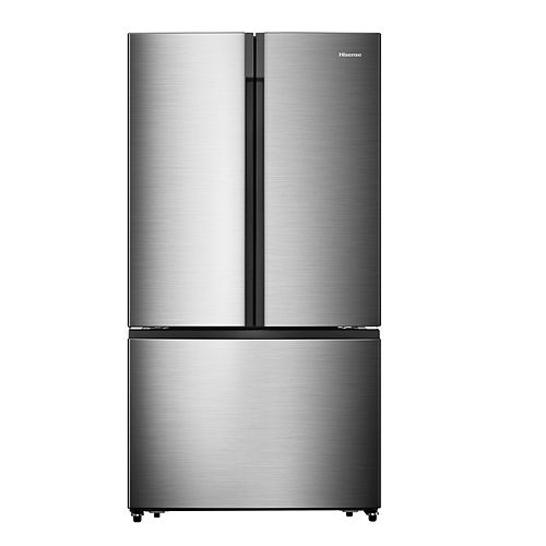Hisense 36-inch W 21.1 cu. ft. French Door Refrigerator in Stainless Steel, Counter-Depth