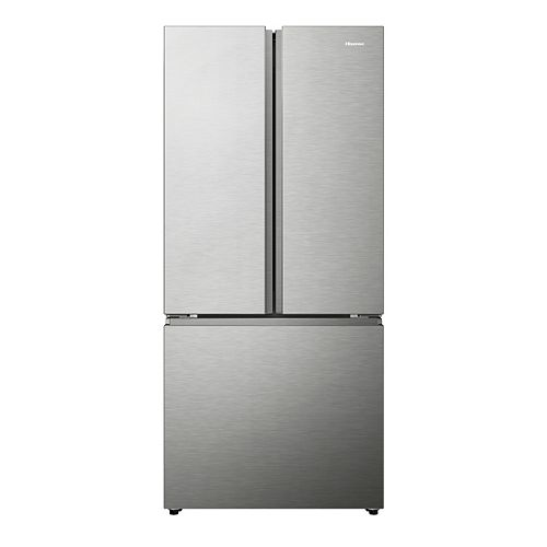 Hisense 30-inch W 21 cu. ft. French Door Refrigerator in Stainless Steel,  under 67 inches tall