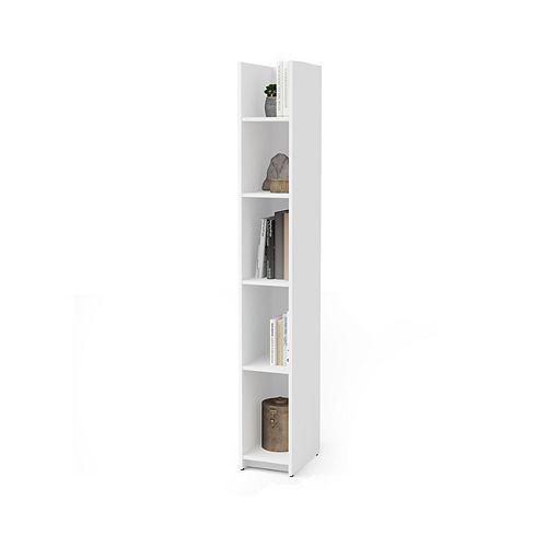 Small Space 10 Narrow shelving unit - White