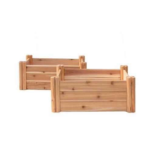 """Lit de jardin modulaire 48 """"x48"""" x12"""""""