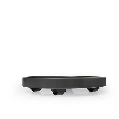 """Les Entreprises Marsolais Saucer with Wheels Assorted Colors 30 cm (12"""")"""