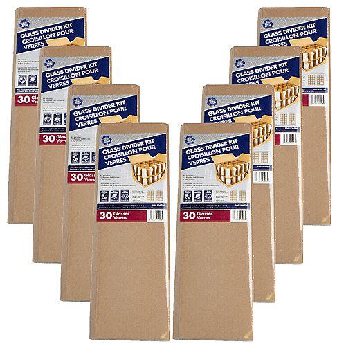 8 Pack Moving Glass Divider Kit