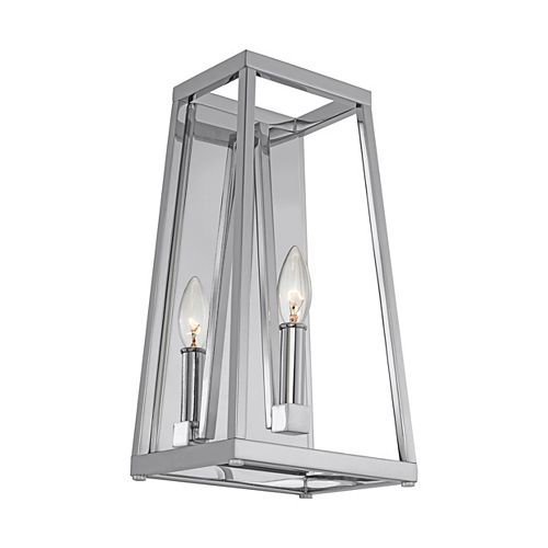 Conant 1-Light Chrome Wall Sconce
