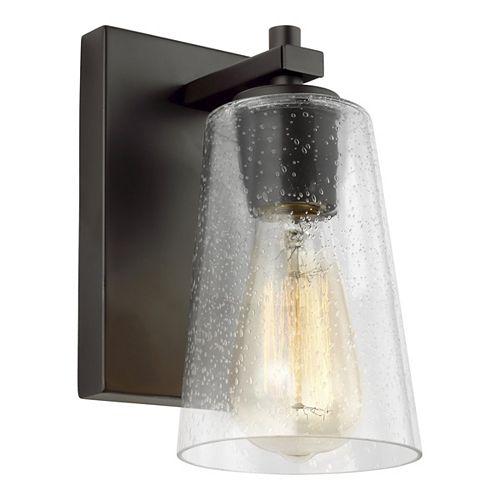 Mercer Applique en bronze huilé à 1 ampoule
