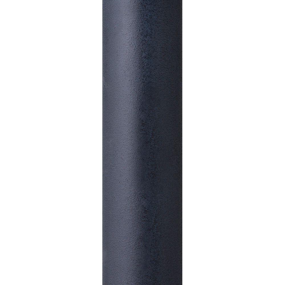 Feiss Collection for Generation Lighting Poteau de lampe dextérieur lisse zinc vieilli foncé de 7 pi
