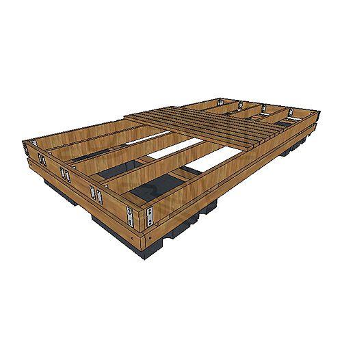 Dock Edge Floating Dock 6 ft. x 16 ft. - Foam Filled