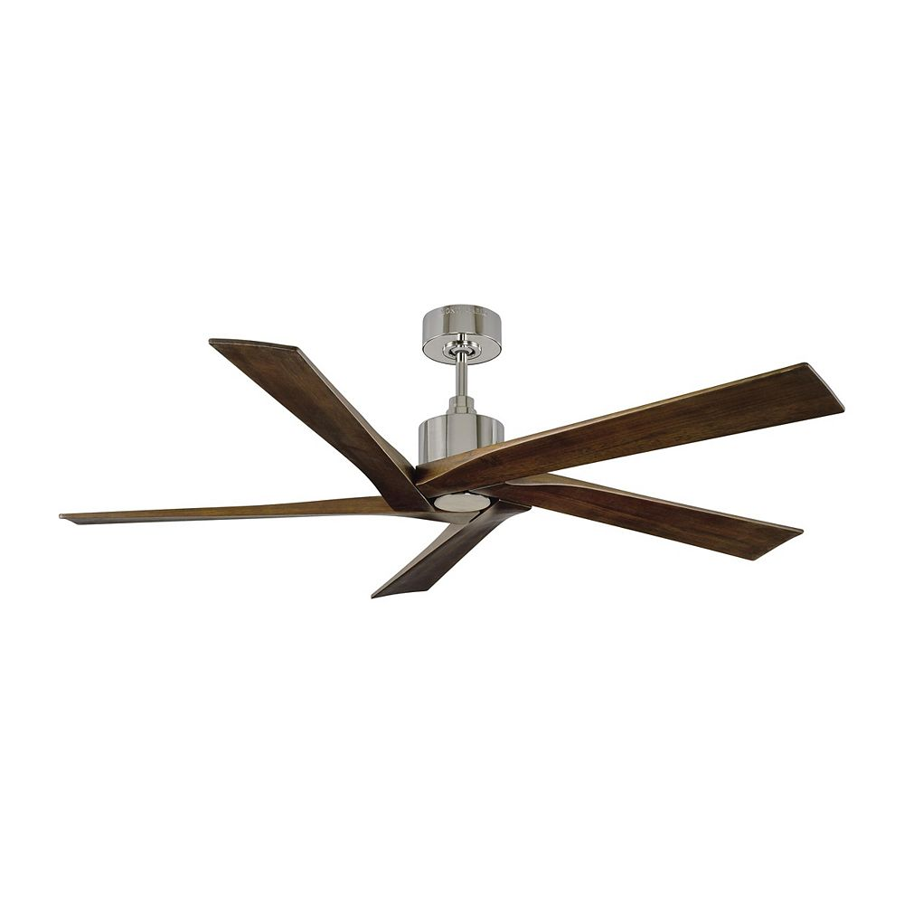 Monte Carlo Fans Aspen 56-inch Indoor/Outdoor Polished Nickel Ceiling Fan