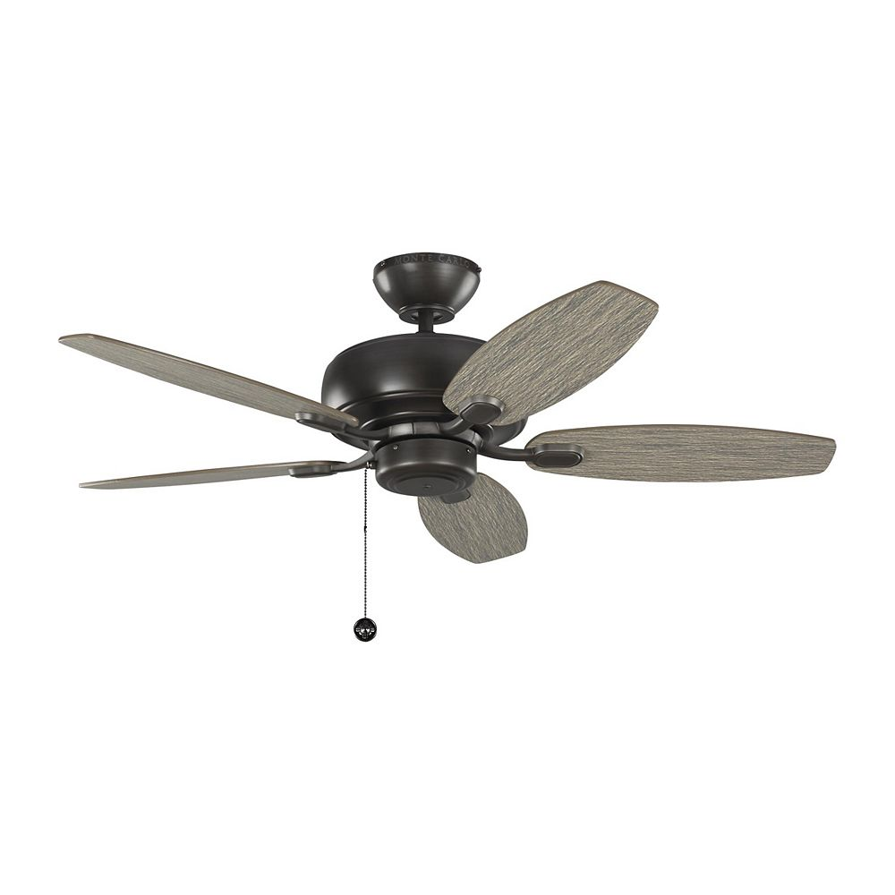 Monte Carlo Fans Centro Max II 44-inch Indoor Aged Pewter Ceiling Fan