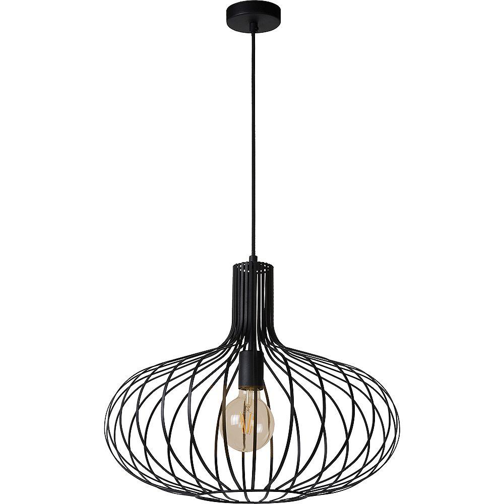 Notre Dame Design Rada 1-Light Black Pendant