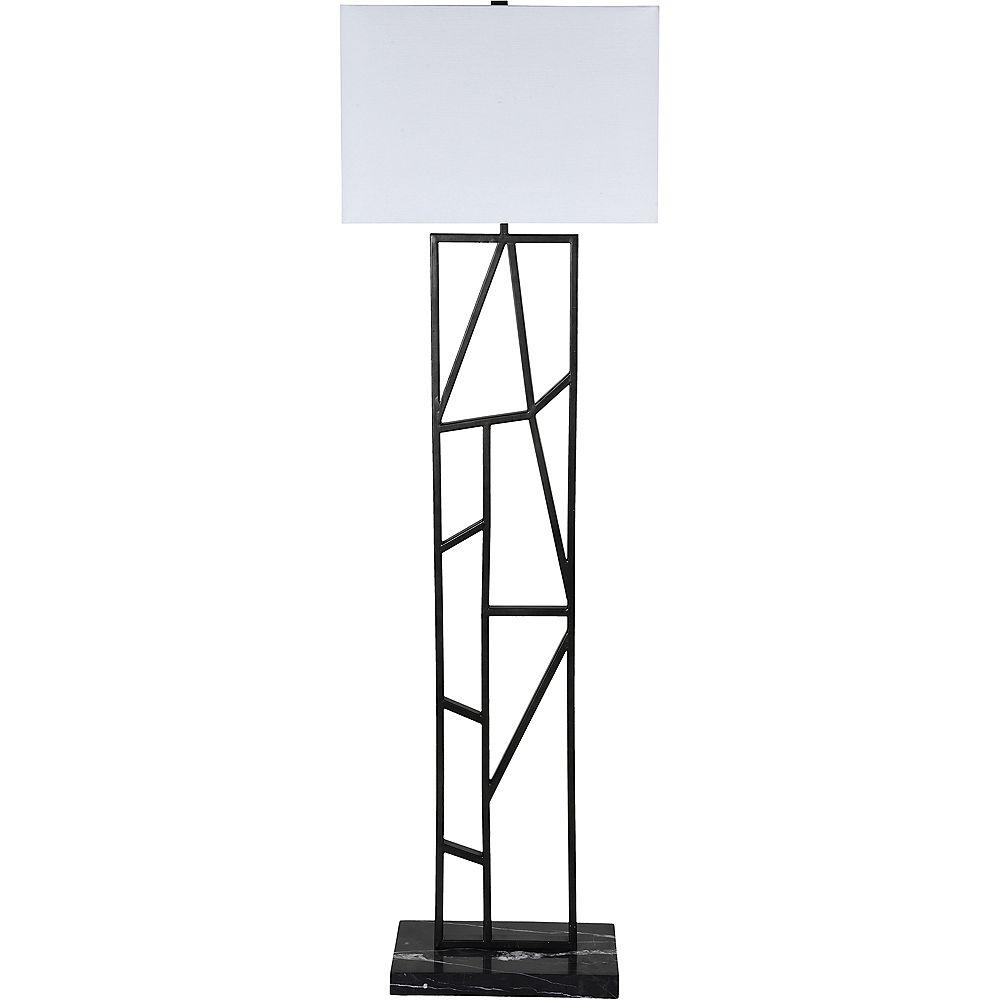 Notre Dame Design Arnott 60-inch Graphite Floor Lamp