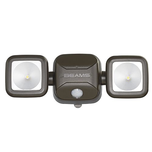 Wireless High Performance Motion Sensor Security Light - Brown