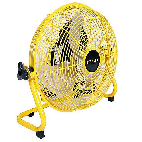 "Stanley 12"" High Velocity Direct Drive Floor Fan"