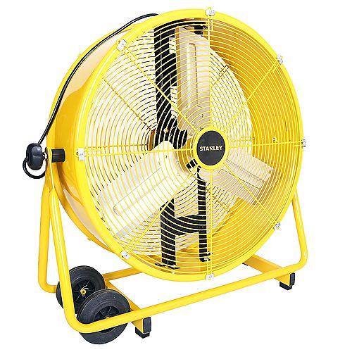 """Stanley 24"""" Direct Drive Cradle Drum Fan Tiltable"""