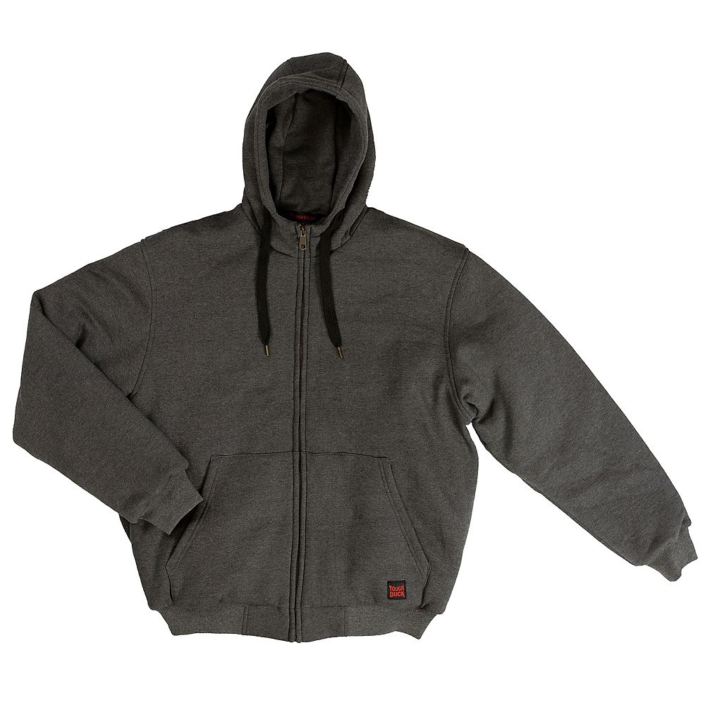Tough Duck Insulated Hoodie Chacl L