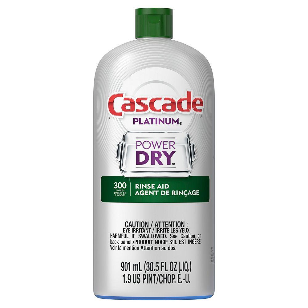 Cascade Cascade Platinum Dishwasher Rinse Aid, 901 mL