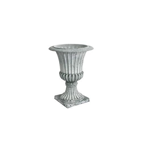 Acerra Planter, Urn Planter 16.25-In. Diameter by 21.25-In. H, Concrete