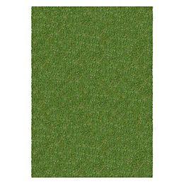 Tapis de gazon synthétique dintérieur/extérieur, 4 pi x 25 pi, vert