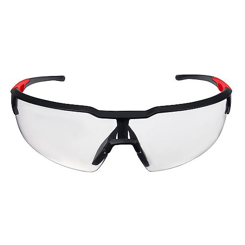Safety Glasses with Clear Anti-Fog Lenses (Polybag)