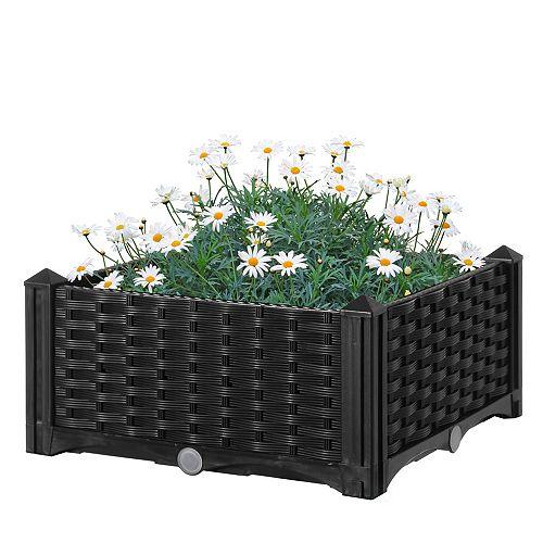 Jardin arboré Lit Screwless Planteur Lit