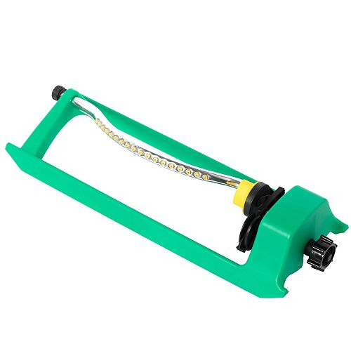 Oscillating Water Sprinkler With 18 Nozzle Jets