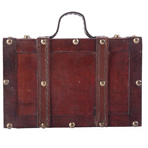 Old-fashioned Small Suitcase with Straps