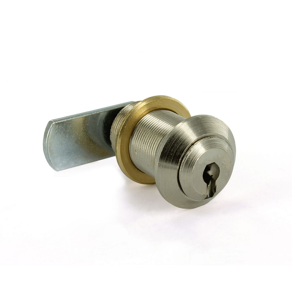 Richelieu 5/8 in (16 mm) Cam Lock for max 25/32 in (20 mm) Panel Thickness - Nickel
