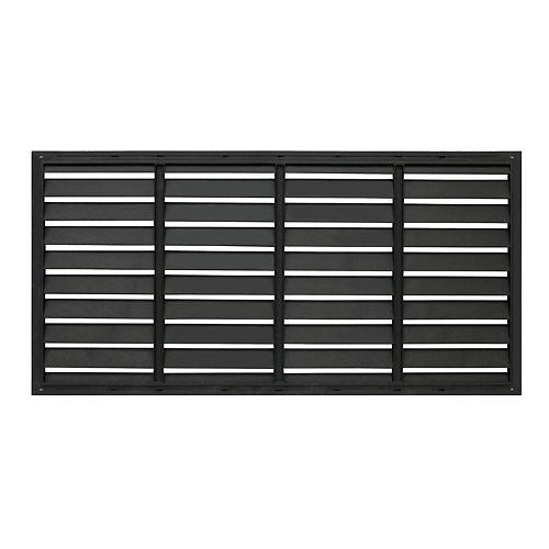 24-inch x 48-inch Shutter Decorative Privacy Panel