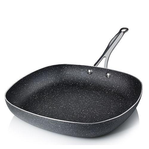 Granite Stone Diamond 12 in. Aluminum Ultra-Durable Non-Stick Diamond Infused Square Fry Pan