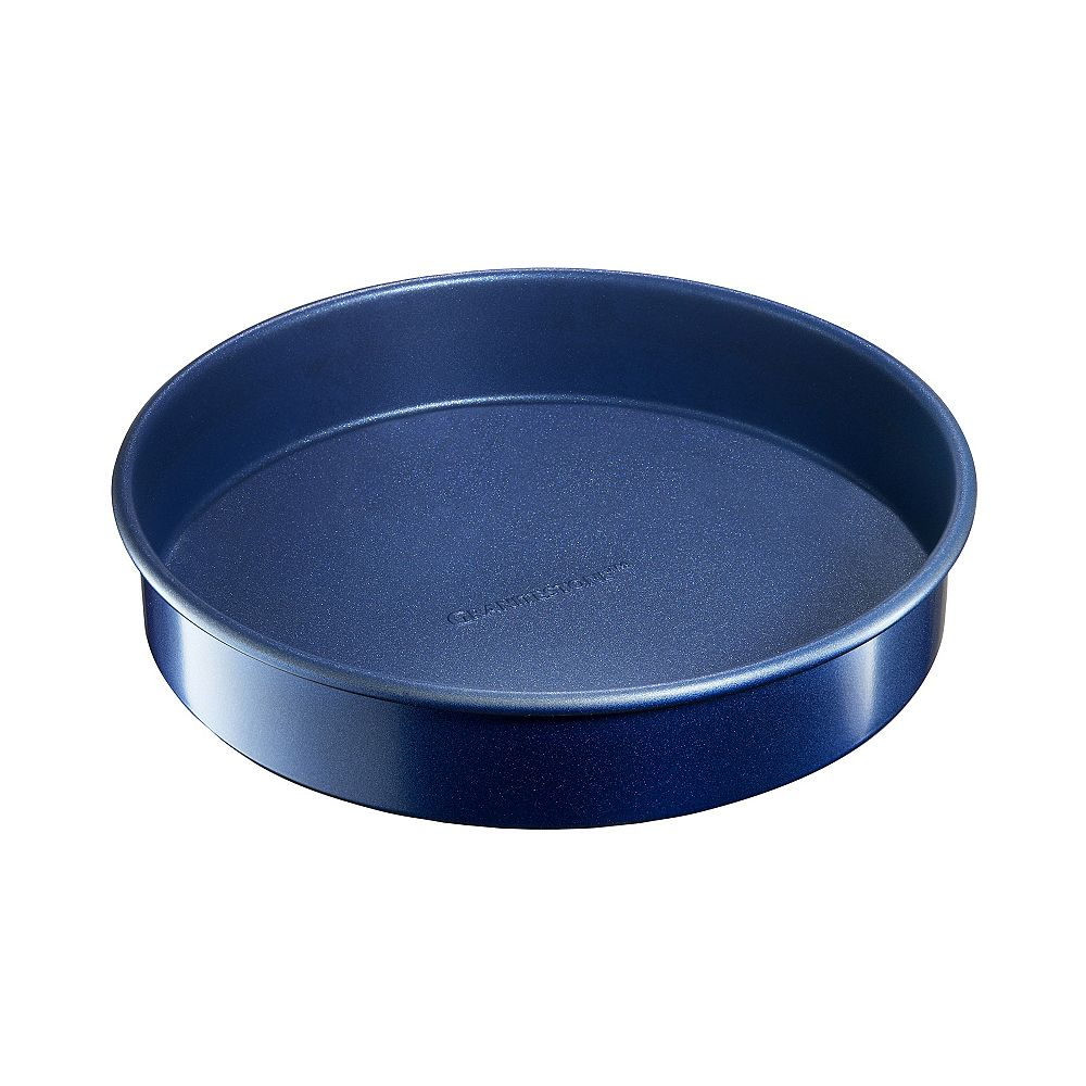 Granite Stone Diamond Classic Blue Pro 0.8MM Gauge Diamond and Mineral Infused Nonstick  9-inch Round Baking Pan