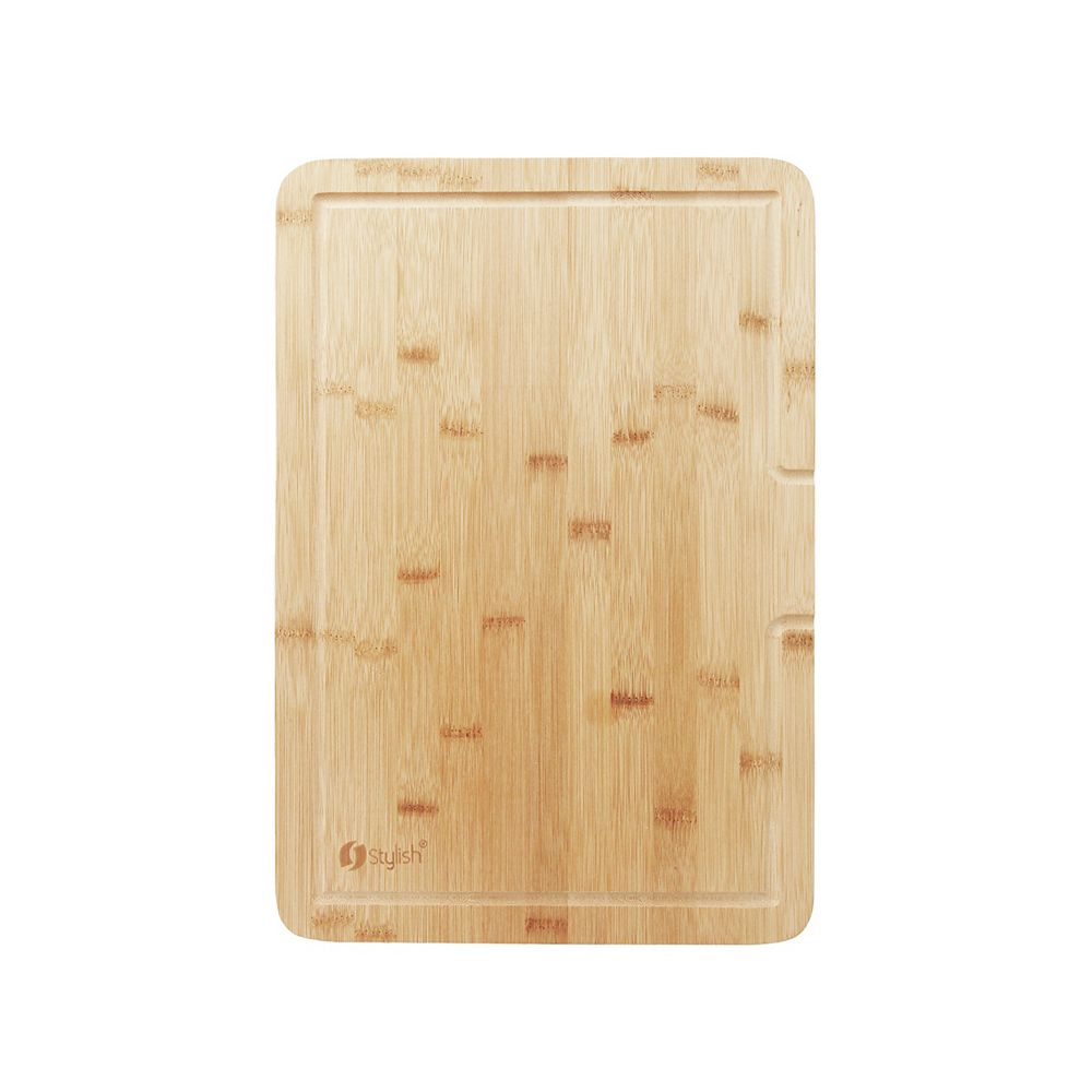 Stylish 17-inch Over the SInk Bamboo Cutting Board